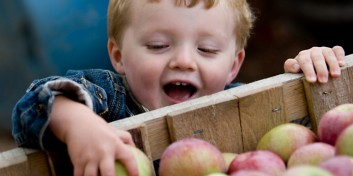 Høstgudstjeneste i børnehøjde